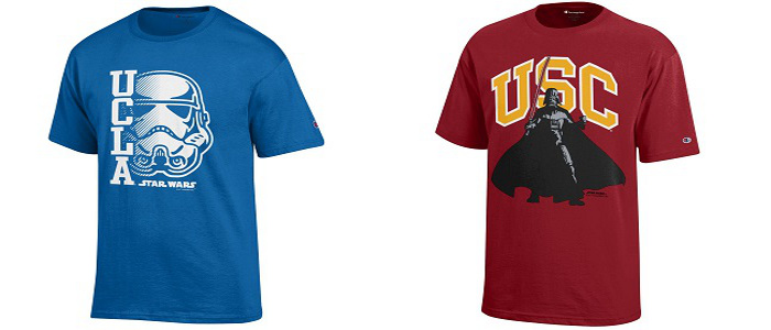 New Star Wars Themed College Campuses Apparel