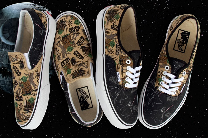868e660b86 Vans Customs Releases Two New Exclusive Star Wars Prints
